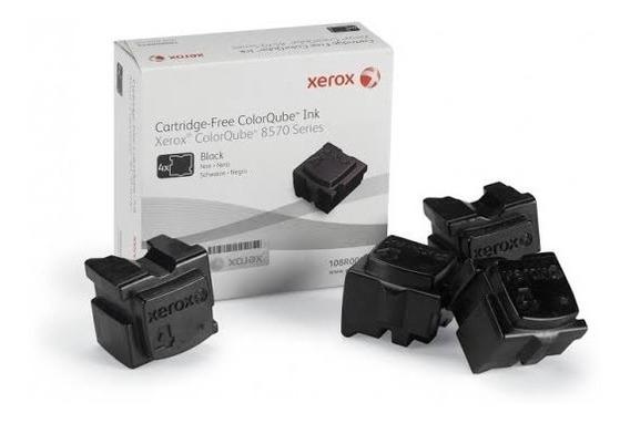 Cera Xerox 8570 Preto C/4 Bastões 108r00940 Preço -28% Novos