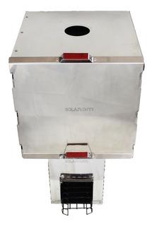 Cocina Calentador Ecológico Biomasa Fuego Solar Inti+ Horno