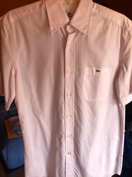 Camisa Lacoste Talla M Para Hombre !n
