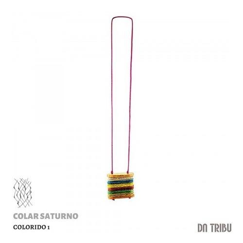 Colar Feminino Saturno | Da Tribu - Biojoia