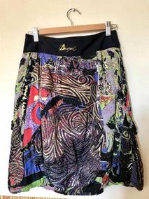 Hermosa Y Original Falda Desigual