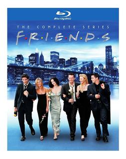 Blu-ray Friends / La Serie Completa / Incluye 10 Temporadas
