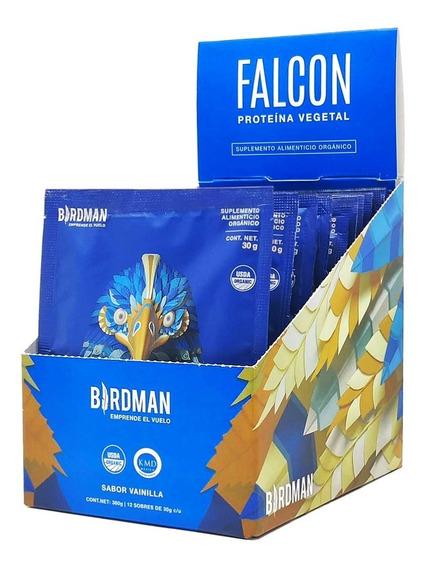 Falcon Protein Multipack 12 Sobres 30gr C/u Proteína Vegana