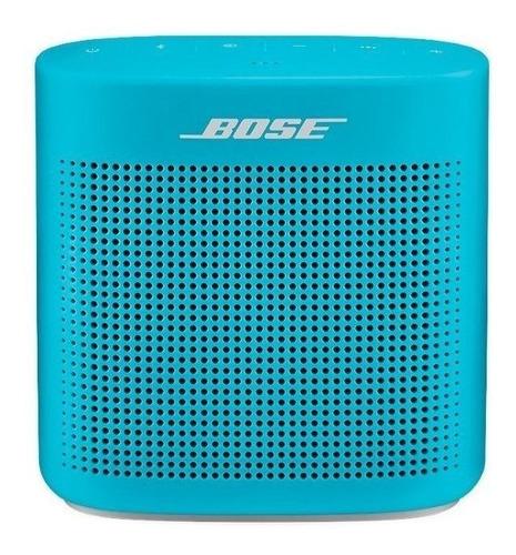 Bocina Bose SoundLink Color II portátil con bluetooth aquatic blue