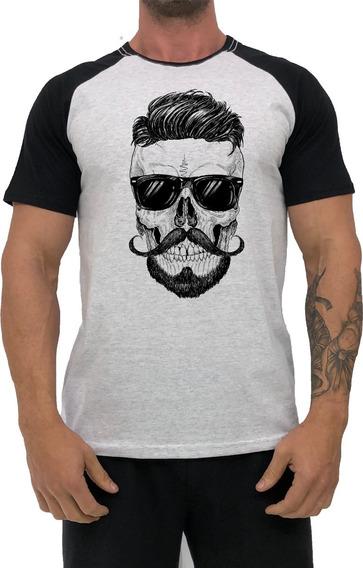 Kit 3 Camisas Estampada Masculina T-shirt Academia Camiseta