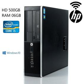 Cpu Hp Elite 8200 Core I5 3.1 Ghz Hd 500gb 6gb Memória Win10