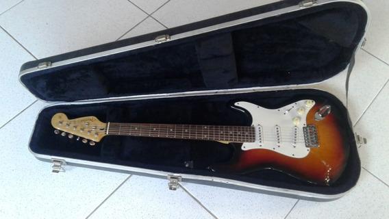 Guitarra Stratocaster C/ Logo Fender. Muito Top!! Troco!