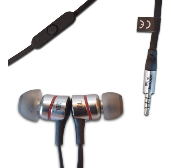 Fone De Ouvido Auricular Jbl P2 Preto C/ Microfone