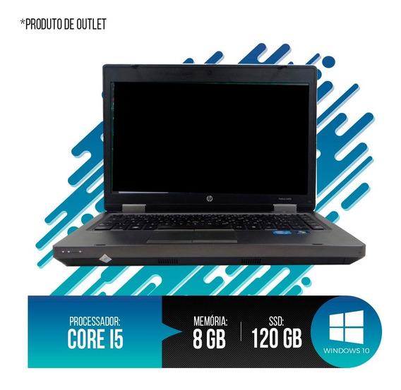 Notebook Hp Probook Intel Core I5, 8gb Ddr3, Hd Ssd 120gb 2ª