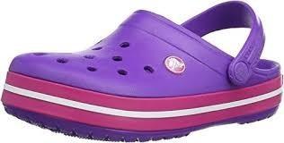 Crocs Crocband Neon Purple-candy Pink -oferta -envio Gratis
