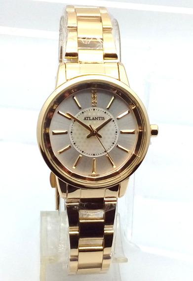 Relógio Feminino Barato Dourado