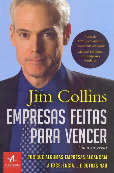 Empresas Feitas Para Vencer Livro Jim Collins Frete 9 Reais