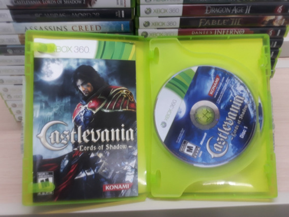 Castlevania Lords Of Shadows Xbox 360