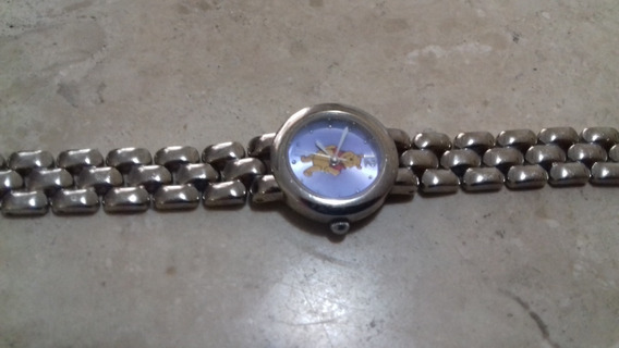 Original Disney Relógio Urso Pooh Puff Feminino Importado!