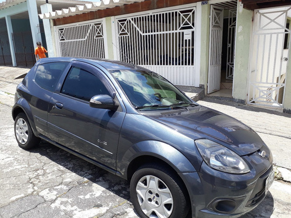 Ford Ka Flex 2013 Azul, Ac, Dh, Trava Carneiro, Ve, Cd
