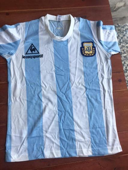 Camiseta De Selección Argentina 1986 Original