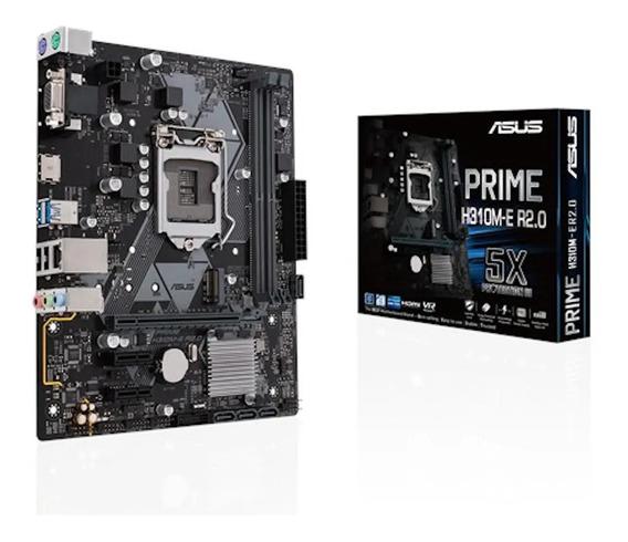 Placa Mae Asus Prime H310m-e R2.0 1151 Intel Ddr4 8ª 9ª H310