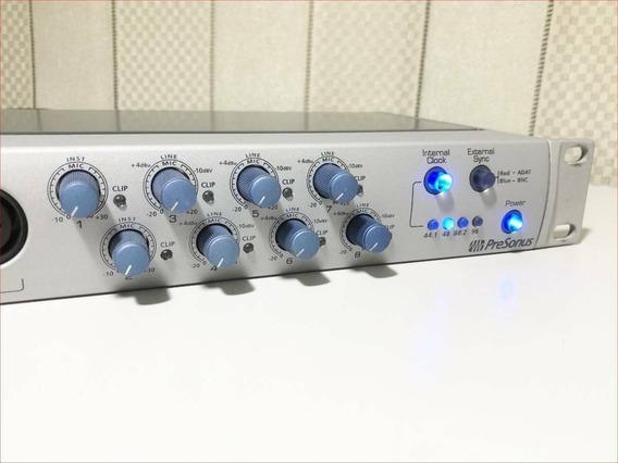 Pre Amplificador Presonus Digimax Fs