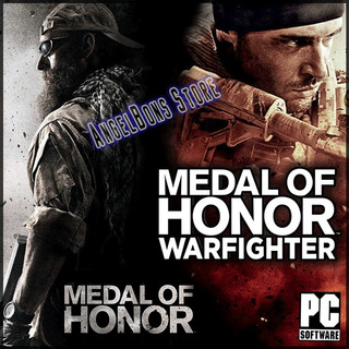 Saga Medal Of Honor 2010 Y Warfighter 2x1 Pc Español
