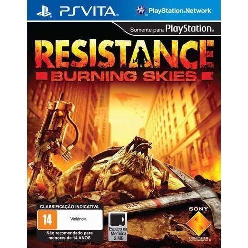 Resistance Burning Skies (mídia Física) - Ps Vita