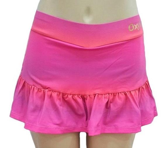 Saia Shorts Oxyfit Marbella Com Babado (promoção)