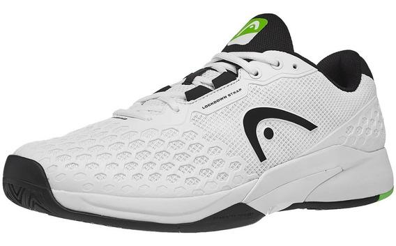 Para Tennis Frontenis Head Revolt Pro 3.0 Tenis Blanco Negro