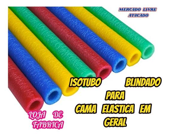 Isotubo Blindado Fantasia P/cama Elastica Kit Com 30+brinde