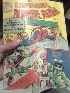 Comic Spiderman #20 La Prensa 1964 Hombre Arana Marvel
