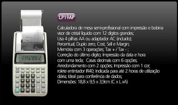 Calculadora Procalc Lp19