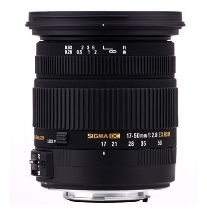Lente Sigma 17-50mm F/2.8 Ex Dc Os Hsm