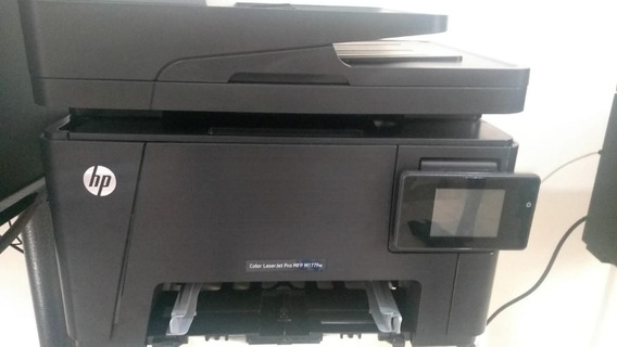 Impressora Hp Color M177 Transfer Novinha Com Toner