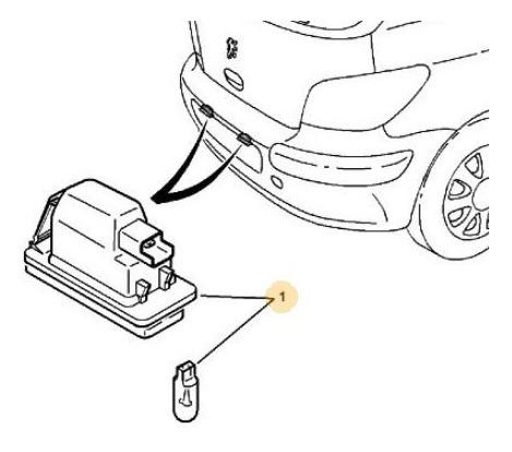 Faro Patente Peugeot 106 1.4