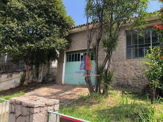 Casa Com 3 Dormitórios Para Alugar, 243 M² Por R$ 3.500/mês - Centro - Americana/sp - Ca0948
