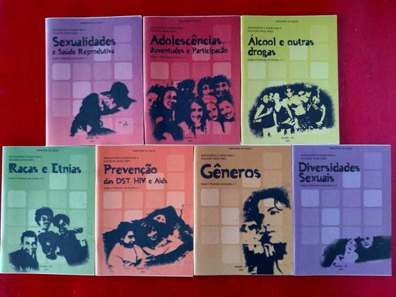 Kit Livros Adolescentes E Jovens Para A Educação Entre Pares