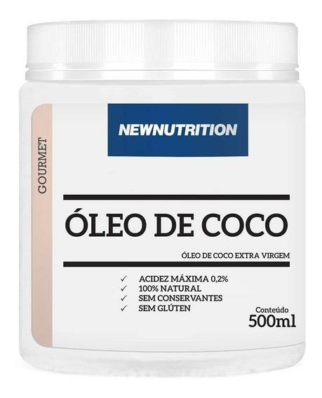 Óleo De Coco Extra-virgem 500ml Newnutrition