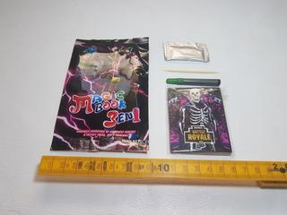 Libro Mágico Fortnite + Fibra + Caramelo Granulado