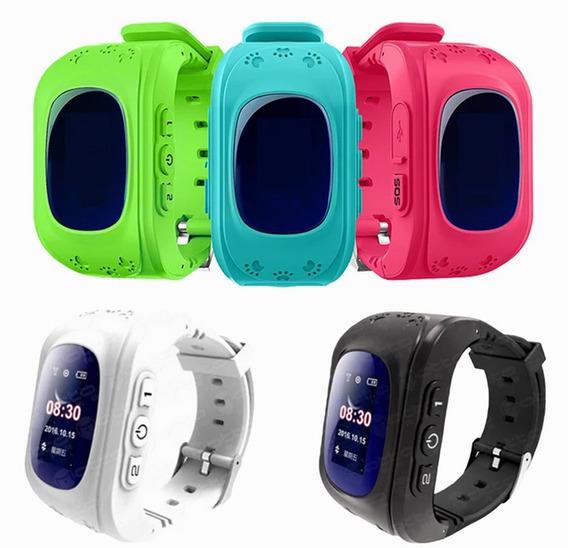 Relógio Infantil Rastreador Localizador Modelo Q50 Pronta En