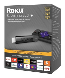 Roku Express+ 3810 Voice Control Streaming 4k Hdmi