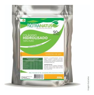 Colageno Hidrolisado Puro 800g 90% Proteína C/ Laudo Analise