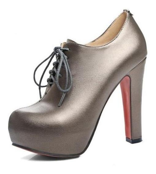 Ankle Boot Feminina Taoffen 47183 Importado