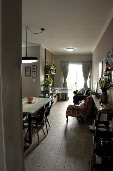 Apartamento Com 2 Dormitórios À Venda, 70 M² Por R$ 350.000 - Alvinópolis - Atibaia/sp - Ap0083