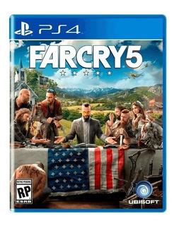 Far Cry 5 Juego Ps4 Fisico Sellado Nuevo * Bsa Comers