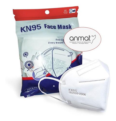 K 95 Mascara Protectora Facial Certificado Bfe 95% X 10u N95