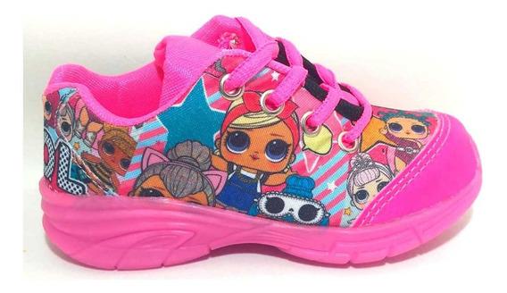Tênis Lol Surprise Barbie Infantil Estampado Promoção Brinde