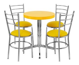 Mesa Juego Con 4 Sillas Para Restaurante Comedor Barato Ma6d