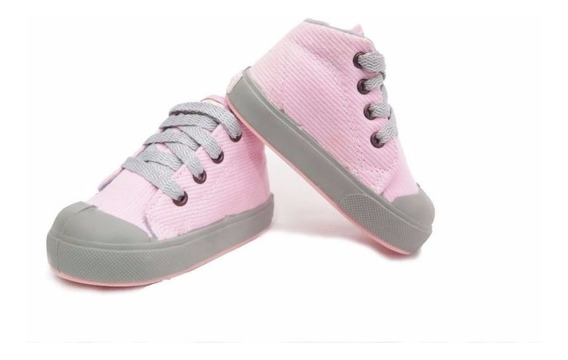 Botitas Zapatillas Cordon Corderoy Nena 16-21 Childrens