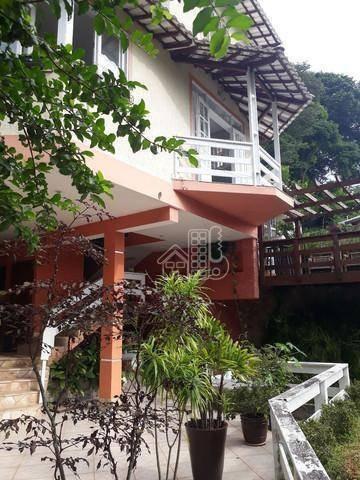 Casa Com 3 Dormitórios À Venda, 270 M² Por R$ 998.000,00 - Maria Paula - Niterói/rj - Ca1661