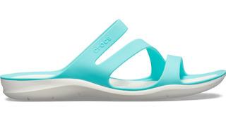 Sandalia Crocs Dama Swiftwater Sandal W Turquesa