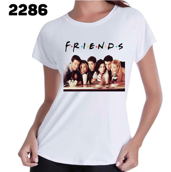 Camiseta Feminina Friends Serie Seriado Blusa Feminina