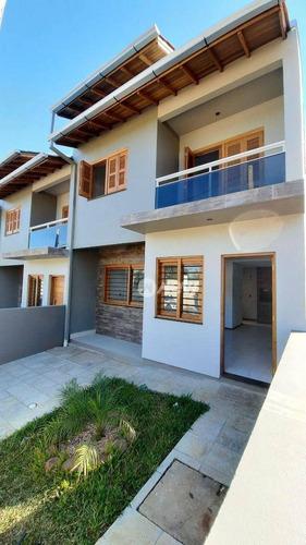 Imagem 1 de 28 de Casa Com 2 Dormitórios À Venda, 77 M² Por R$ 230.000,00 - Campo Grande - Estância Velha/rs - Ca3363
